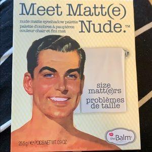 The Balm eyeshadow palette Meet Matt(e) Nude